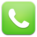 phone green icon
